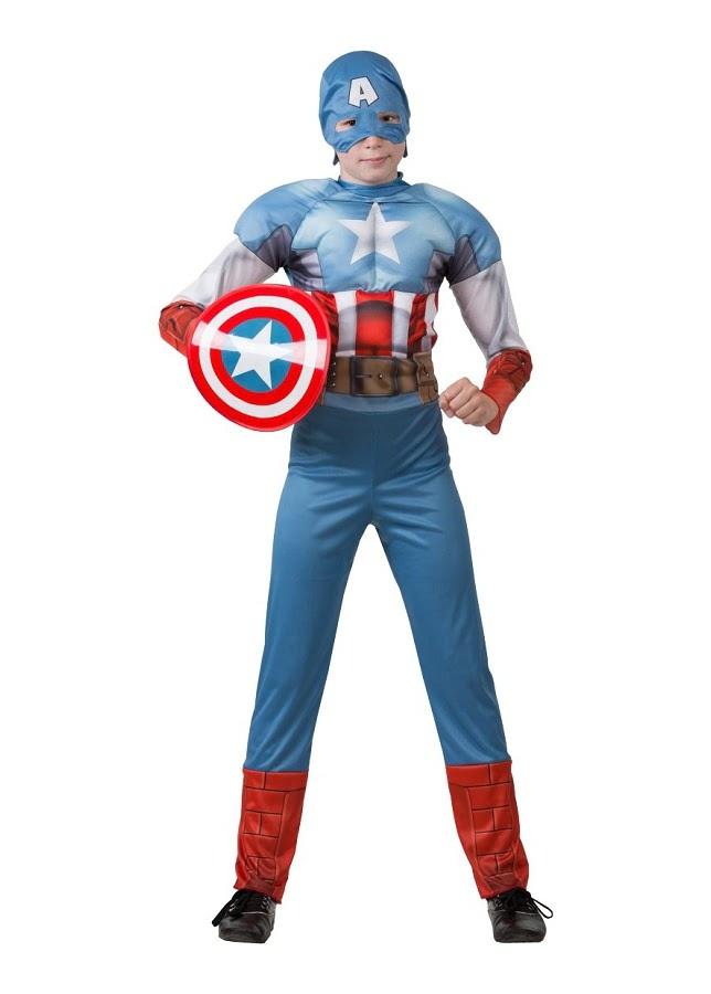 Капитан Америка. Мстители. (Зв. маскарад) Дисней 5091