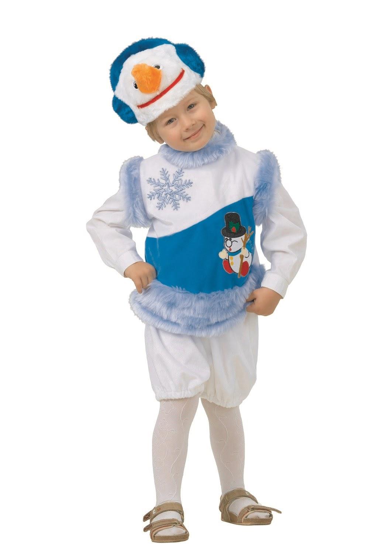 Снеговик снежный (плюш)
