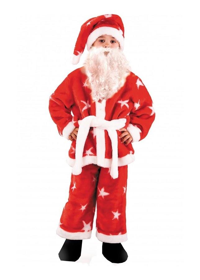 Санта Клаус мех (дет.) р.36 143