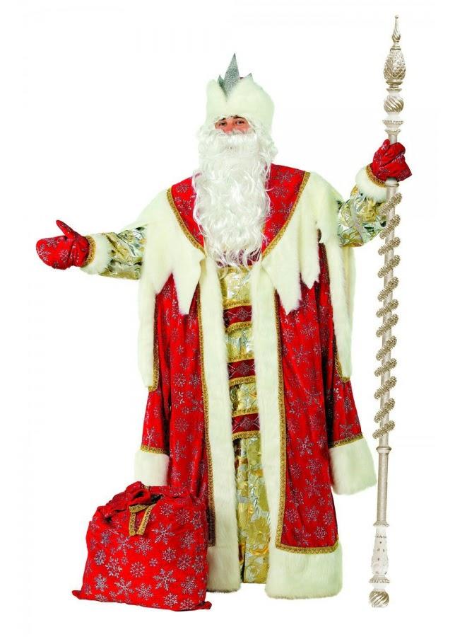 Костюм Деда Мороза «Королевский»