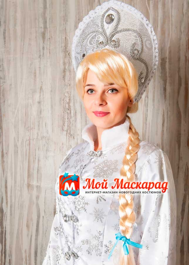 Коса Снегурочки (золотисто-русая)