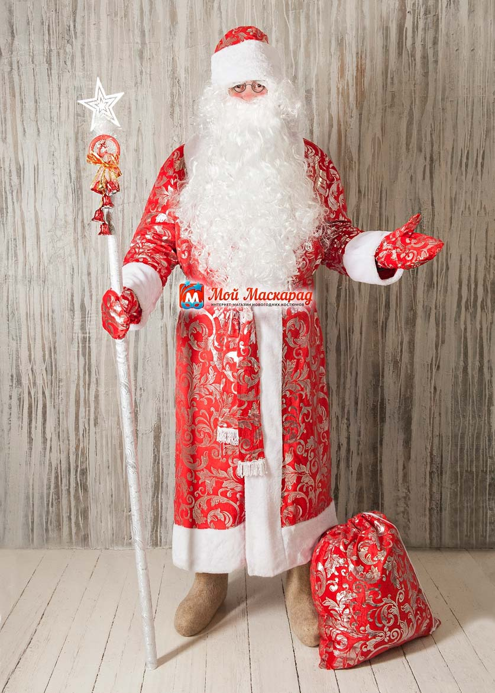 Костюм Деда Мороза «Морозный-Узор»