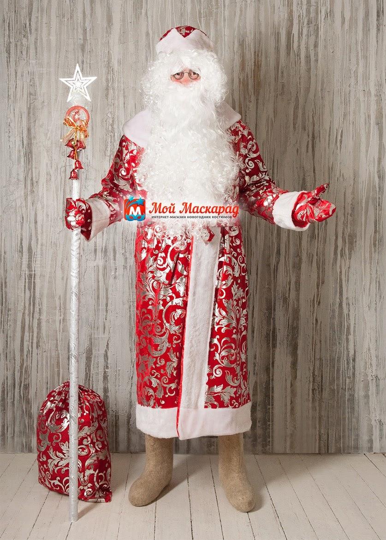 Костюм Деда Мороза «Морозные-Огурцы»