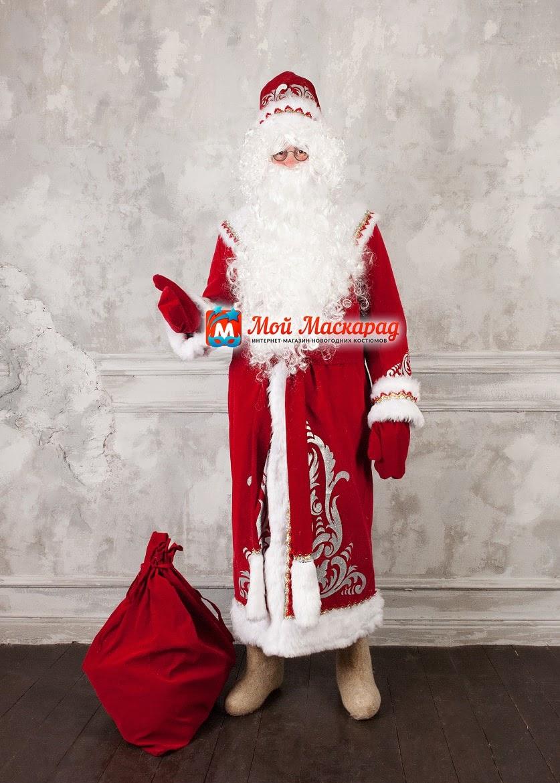 Костюм Деда Мороза «Аппликация Мороз»